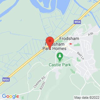 Air Rifle Ranges West Frodsham, Cheshire Location Map